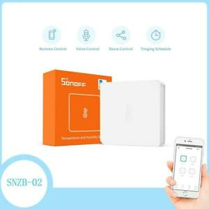 SNZB-02 Zigbee Temperature and Humidity Sensor Smart Home Remotel Monitor