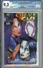 Cyblade / Shi #1 CGC 9.2 WP 3798457006 Variant 1st Witchblade