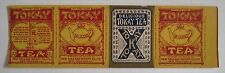 TOKAY Tea Box Cover Label New Orleans Import Co.
