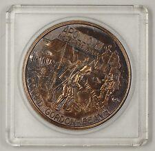 """Apollo 12 (XII) Commemorative Bronze Medal """"The Yankee Clipper"""" In Plastic Case"""