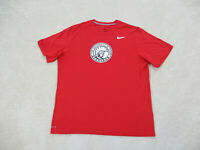 Nike Tampa Spartans Shirt Adult Extra Large Red White Drifit Football Mens