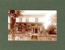 Postcard Tunkhannock PA Shaw Home Real Photo Rare  Wyoming County