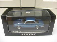 Minichamps BMW 2000 CS 1967 light blue metallic 400025020 mint in box, 1:43 MIB
