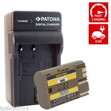 batteria BP-511 e caricabatteria per EOS 5D 50D 10D 20D 30D 40D 300D D10 D30 D60