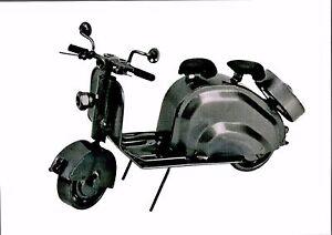 """Deko Figur """"Roller"""" Metall handgefertigt, Schraubenmännchen 83010"""