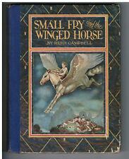 Antique 1927 Pegasus Children's Story Bk Beautiful Original Color Illustrations!