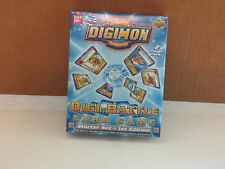 DIGITAL DIGIMON MONSTERS DIGI-BETTLE CARD GAME STARTER SET1ST EDITION 2 PLAYER S