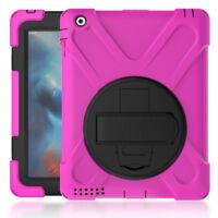 Silikon Schutzhülle Ständer Smart Cover Hülle für Apple iPad 2 3 4 Tasche Etui