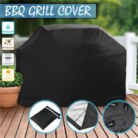 """Heavy Duty BBQ Grill Cover Gas Barbecue Outdoor Garden Waterproof 6 Size 22""""-67"""""""