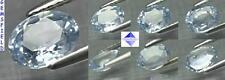 TOP VVS !!! 1.14ct SAPHIR de SRI LANKA SAPPHIRE - léger bleu ciel - poli AAA++