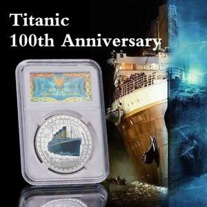 WR Australian Titanic Erinnerungssilber überzogene Münzen-Sammlungs-Geschenke