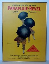 "Vintage Poster Parapluie Revel 31½"" x 23½"" By Leonetto Cappiello Umbrella 1922"