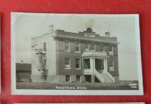 Postcard Hospital Rosetown Saskatchewan Jessop RP 1920