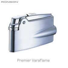 Ronson Premier Varaflame lighter Satin Chrome New Boxed