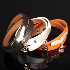 Modeschmuck-Armbänder aus Leder und Edelstahl-für besondere Anlässe