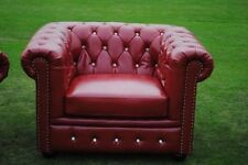 Chesterfield Solid Armchairs