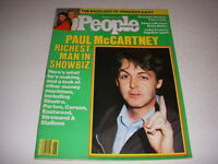 Vintage PEOPLE Magazine, November 14, 1983, PAUL MCCARTNEY, LUKE & LAURA!