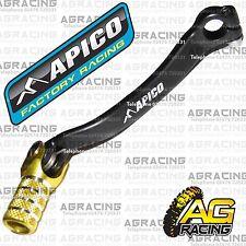 Apico schwarz gelb gear pedal lever Schalthebel für Suzuki RMZ 450 2005 Motocross MX