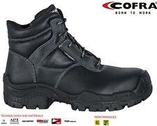 COFRA 31141-000.w45 Size 45 S3 SRC Livorno Safety Shoes - Black