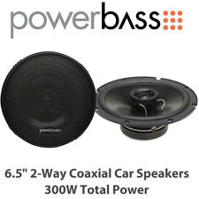 "Powerbass S-6502 - 6.5"" 2-Way Coaxial Car Door Speakers 300W Total Power BNIB"