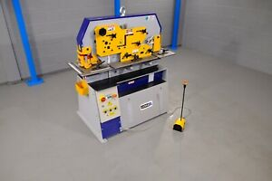 new UZMA 60  ton hydraulic steelworker 5 station vat included