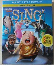 Sing (Blu-ray/DVD, Includes Digital Copy)