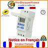 Horloge Programmable Interrupteur 230V 16A Digital Module Horaire Programmateur
