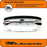 MR.BODYKITS REAR BOOT LID SPOILER BOBTAIL WING FOR FORD FALCON FGX FG-X 14-16