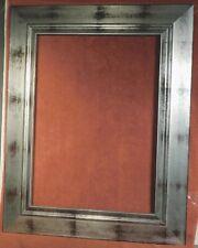 Vintage NEO Art DEco Silver Reverse Casetta MODERN Art Picture Frame 22x16 MASS