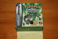 Pokemon: Emerald Version Walmart Big Box Bundle (Gameboy Advance) NEW SEALED!