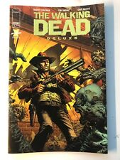THE WALKING DEAD DELUXE 1 Gold Foil variant ERROR Printed with NO barcode