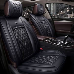 Black Seat Covers fits Jeep Patriot Wrangler Compass Renegade Grand Cherokee WK