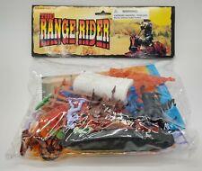 The Range Rider Play Set Vintage Western Cowboys Indians