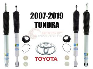 Bilstein B8 5100 Adjustable Front Shocks w/ Rear Set For 2007-2019 Toyota Tundra