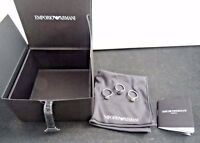 Emporio Armani EGS19690406.5 Stainless Steel 3 Ring Set Size 5.5 With Box New