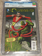 DC Comics Convergence 1 CGC 9.8 Bolland Cover Variant Swamp Thing Plastic Man