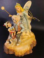 RARE Jim Shore Pinocchio Disney Traditions Wishing Upon A Star Figurine 4023575