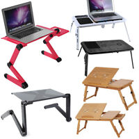 Top Portable Folding Laptop Desk Computer Table Stand Tray For Home Bed Sofa USA