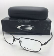 30e195ad1f Brand New OAKLEY Titanium Eyeglasses KEEL BLADE OX3125-0855 55-18 Pewter  Frames
