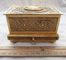 Vintage Estate Find Griesbaum Singing Bird Box Automaton Music Box L@k Video