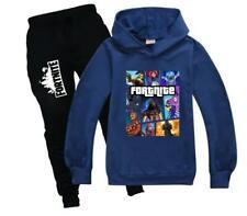 Fortnite Hoodie + Hosenanzug Langarm Trainingsanzug Sportswear Outfits Kleidung