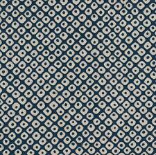 Pièce de tissu Japonais Coupon Kanoko 45x54 cm Bleu/écru