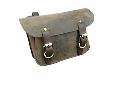 PU Leather Brown Traditional Saddle Bag Horse Riding Equestrian Bits