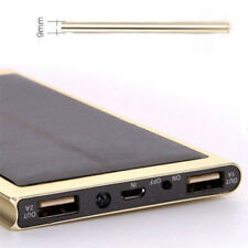 100000mAh Dual USB Portable Solar Battery Charger Power Bank For Cell Phone