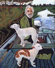 Goodfellas Dog Painting Print Movie Prop Replica Joe Pesci Robert DeNiro