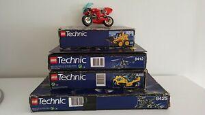 Lot LEGO TECHNIC Boîtes + Notices Incomplètes