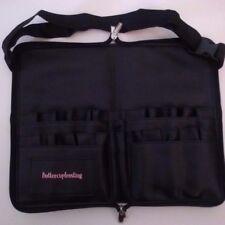 Pro makeup brushes travel case w/ zipper /artist strap/ tool belt apron PU.