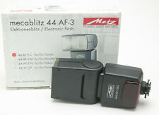 Metz Mecablitz Flash 44 AF-3 For Canon Cameras. Unused. Box. Manual.