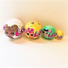 LOL Surprise Bundle of 4 Balls (Glitter, Pets , Lil Sisters and Charm Fizz)