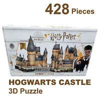 428 Piece Harry Potter Hogwarts Castle 3D Puzzle Jigsaw Includes Base Board New